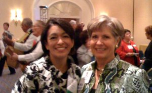 Rita Zamora and Lynda Kizer, President of Lynda Kizer & Associates